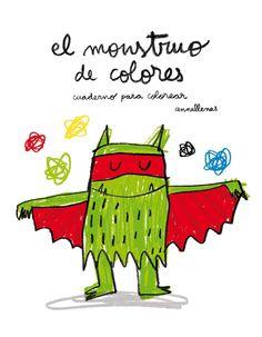 EL MUNDO DE LOLA & ELENA: Viernes de cuento: El monstruo de colores