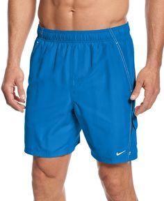 Nike Big and Tall Swimwear, Core Velocity Volley Swim Trunks