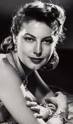 Ava Gardner, photo shoot, 1940's.