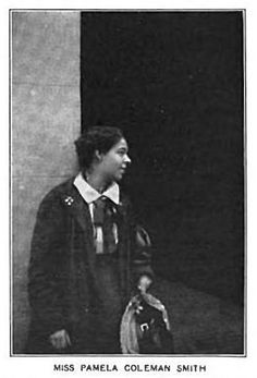 Miss Pamela Coleman Smith ; The Reader: An Illustrated Monthly Magazine, September, 1903, p. 331-332.