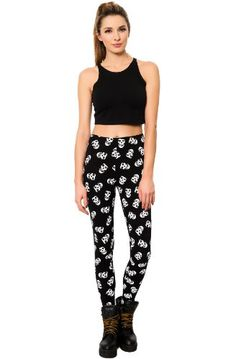 Iron Fist Women's Misfits Feind Skull Leggings - Was: $52.00 Now: $24.29