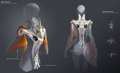 Concept art for a jetpack by Saiful Haque