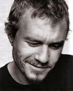 Heath, such a gorgeous man.