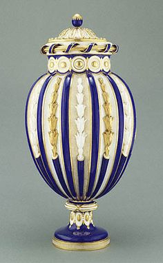 Sevres Porcelain Manufactory, Vase (Design by Jean-Claude Duplessis and Model by Michel-Dorothee Coudray) French 1765-1770
