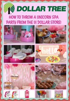 Unicorn Birthday Party Ideas, Birthday Party Ideas From The for Spa Party Decorations Ideas Kinder Spa Party, Spa Day Party, Girl Spa Party, Sleepover Birthday Parties, Unicorn Themed Birthday Party, Girl Sleepover, Birthday Party For Teens, Birthday Party Themes, 7th Birthday