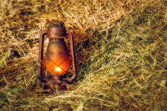 Vintage lamp. - null