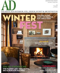 Architectural Digest Magazine Germany 2015