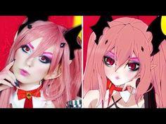 Nyx Face Awards 2016 Anime | Owari No Seraph Vampire Reign Krul Tepes Cosplay | Victoria Lyn Beauty - YouTube