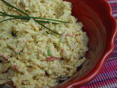 Paté de delícias com caril e cebolinho by a galinha maria, via Flickr