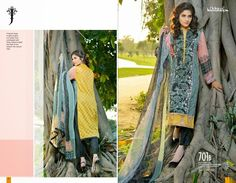 Jubilee cloth mill is a famous and challenging textile mill in Pakistan that is working since 1984 and providing high quality fabrics. Reasonable Pakistani Doha Jubliee Embroidered Lawn Salwar Kameez suits 2015  RS 2300 Each 3pc Suit To Order Call/Whatsapp 9910323010/9910333010