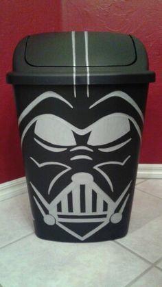 Darth Vader Trash Can