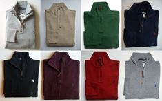 Chic Men Polo Ralph Lauren Half Zip Sweater All Sizes Assorted Colors polo sweater from top store Polo Sweater, Cotton Sweater, Pullover Sweaters, Ralph Lauren Pullover, Polo Ralph Lauren, Half Zip Sweaters, Men's Coats And Jackets, Long Sleeve Sweater, Military Jacket