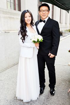 These Adorable City Hall Weddings Are Giving Us ALL The Feels #refinery29  Http:/