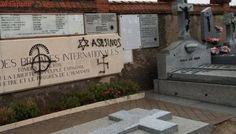 Nueva profanación en un cementerio de Madrid: pintadas nazis contra las Brigadas Internacionales