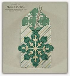 Be Creative with Nicole: Envelope Punch Board Gift Card Holder