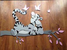 tijgertje www mdf deco nl decoratie kinderkamers more nl decoratie ...