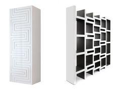 REK Bookcase by Reinier De jong, a flexible bookshelf that grows with your collection