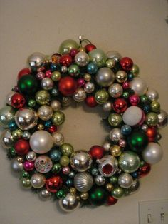 what a pretty idea - Christmas Decorations Pinterest Handmade