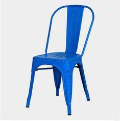 Blue Vintage Side Chair