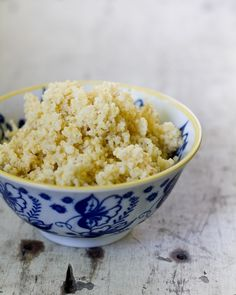 how to cook millet- a cous cous like grain that's gluten free and delish!