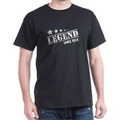 Cafepress Personalized Legend Since Dark T-Shirt, Men's, Size: Medium, Black