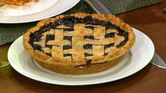 Carla Hall's Hundred Blueberry  Pie