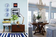 5 New England tips för ert vardagsrum