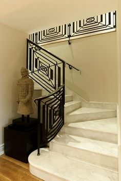 Simple and Sophisticated Marble Staircase