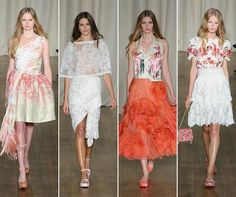 Marchesa Spring/Summer 2015 Collection - London Fashion Week