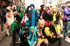 The Nipponbashi Street Festa Cosplay Pics Cute Cosplay, Amazing Cosplay, Best Cosplay, Cosplay Costumes, Cosplay Ideas, Costume Ideas, Vocaloid Cosplay, Anime Cosplay, People's Friend