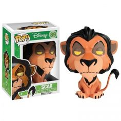 [Pre-Order] Disney Pop! Vinyl Figure Scar [The Lion King] - Funko Pop! Vinyl - Category