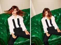 Héloïse Letissier of Christine and the Queens Thea Queen, New York Times, Christine And The Queens, T Magazine, Body Poses, Tomboy Fashion, Androgynous, Pretty People, Female Bodies