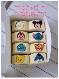 Disney tsum tsum rollcake