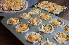 Freezer Cooking in an Hour: Mini Deep Dish Barbecue Chicken Pizzas & Brownie Mix Bulk Cooking, Batch Cooking, Freezer Cooking, Cooking Ideas, Cooking Recipes, Real Food Recipes, Snack Recipes, Snacks, Delicious Food