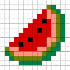 MINECRAFT PIXEL ART – One of the most convenient methods to obtain your imaginative juices flowing in Minecraft is pixel art. Pixel art makes use of various blocks in Minecraft to develop pic… Pixel Art Simples, Easy Pixel Art, Pixel Art Grid, Fuse Bead Patterns, Perler Patterns, Beading Patterns, Crochet Patterns, Minecraft Pixel Art, Cross Stitching