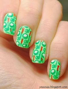 Golf By Yasinisi From Nail Art Gallery