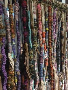 Arte en Lana Chile. Hand Woven wall tapestry. Weaving