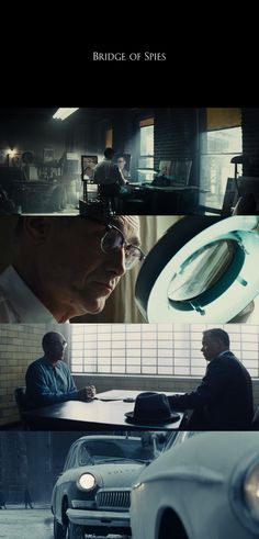 """Bridge Of Spies"" (2015) - Director: Steven Spielberg, Cinematography by: Janusz Kaminski"