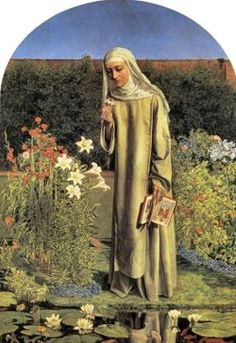 Convent Thoughts is a painting by the Pre-Raphaelite painter Charles Allston Collins