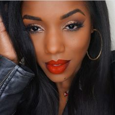 48 Trendy makeup ideas for prom red lipsticks dark skin 48 Trendy makeup ideas for prom red lipsticks dark skin Gorgeous Makeup, Love Makeup, Makeup Tips, Beauty Makeup, Makeup Looks, Makeup Ideas, Makeup Inspo, Makeup Stuff, Beautiful Lips