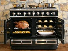 For the kitchen: I grew up with a HUGE stove and I don't think I can live without it anymore!