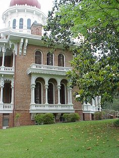 Another Side View of Longwood - Natchez, Mississippi