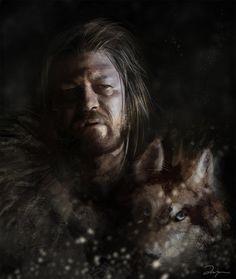 Sala7design: Ilustrações de Game of Thrones, por Anna Mitura