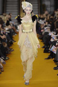 Rococo- esque -- Christian Lacroix Spring/Summer 2008 - Full length photos (Vogue.com UK)