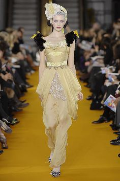 Christian Lacroix | Spring 2008 Couture Collection | Style.com
