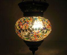 gray moroccan lantern mosaic hanging lamp glass chandelier light turkish candle holder h 129 handmade_antiques http://www.amazon.com/dp/B01EG8SLKW/ref=cm_sw_r_pi_dp_a6qfxb1NN1BRA