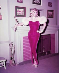 "On set photo of Lucy as Marilyn Monroe, from ""Ricky's Movie Offer"" (1954), I Love Lucy"