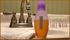 This Face Wash is easy to make, all natural, and will save you money! Have you tried it yet?