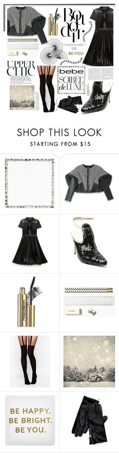 """""""Soirée de Luxe with bebe Holiday: Contest Entry"""" by tatjana ❤ liked on Polyvore featuring Kim Seybert, Bebe, Napoleon Perdis, Kate Spade, ASOS, Ankit, Tommy Hilfiger, contestentry, bebe and bebeholiday"""
