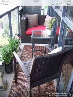 10 gorgeous outdoor spaces on h&h tv | condo balcony, balconies ... - Condo Patio Privacy Ideas